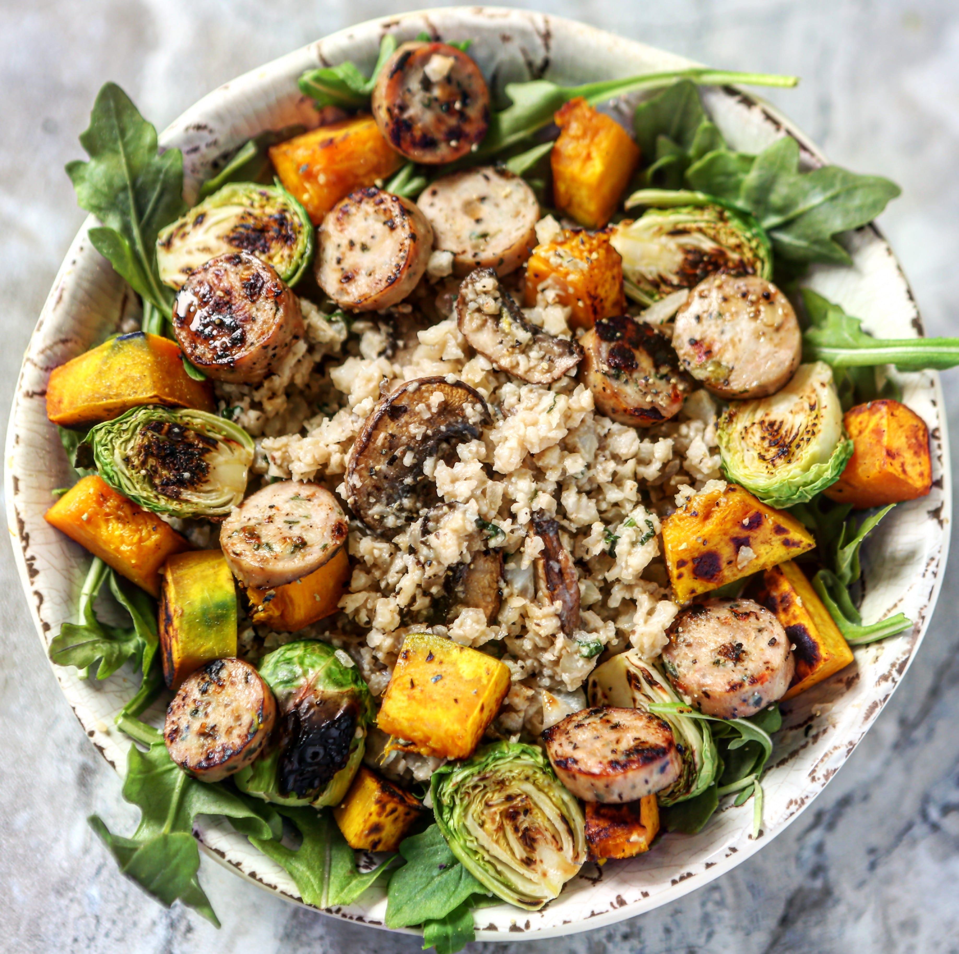"""Vegan and Paleo Cauliflower 'Risotto"""""""