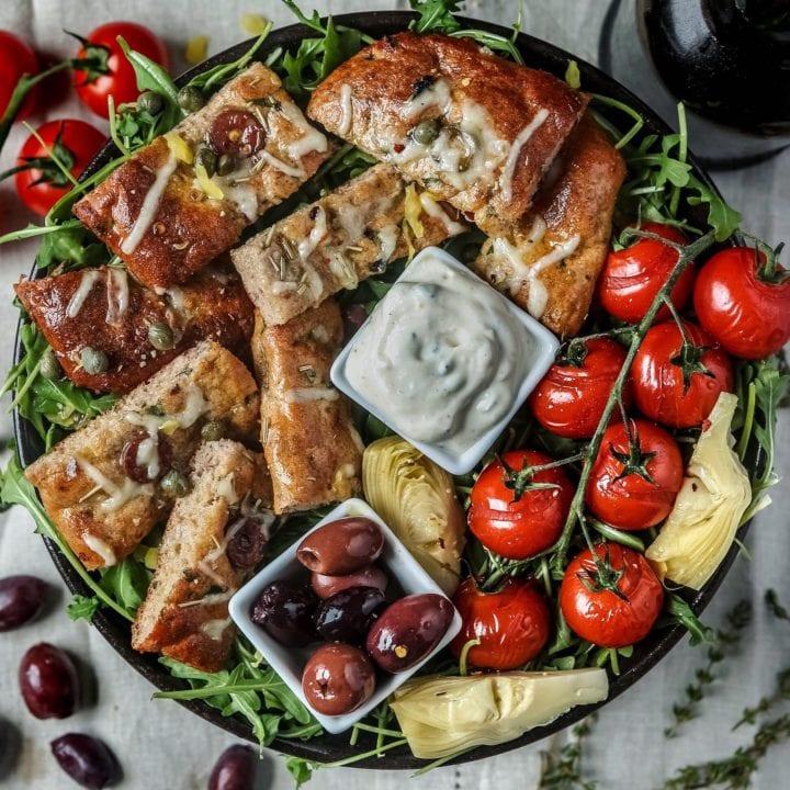 Paleo Olive-focaccia bread!