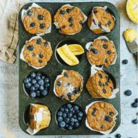 Blueberry Banana Bread Muffins