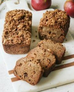Apple Streusel Bread: