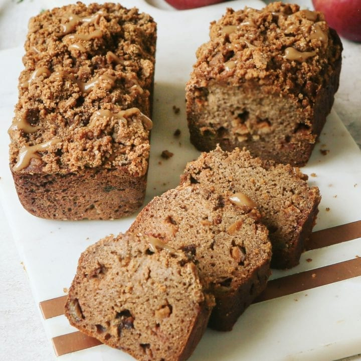 Apple Streusel Bread: