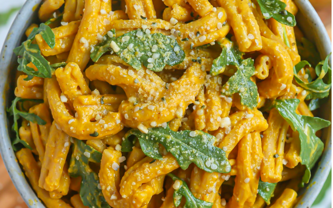 Pumpkin Curry Pasta