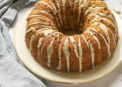 Pumpkin Banana Bundt Cake