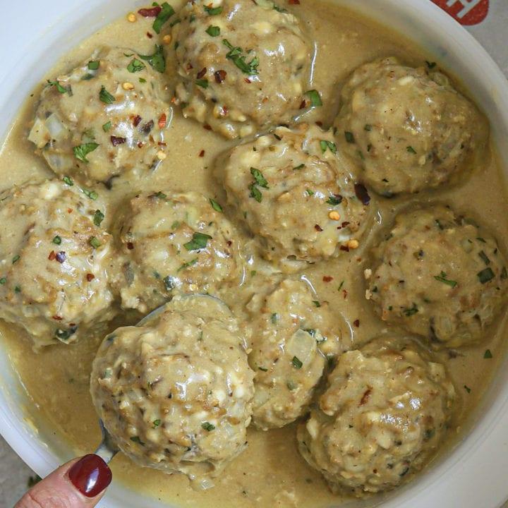 Swedish Meatballs and 5-Ingredient Gravy