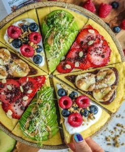 Five Ingredient Paleo Plantain Pancake