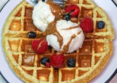Paleo Plantain Waffle