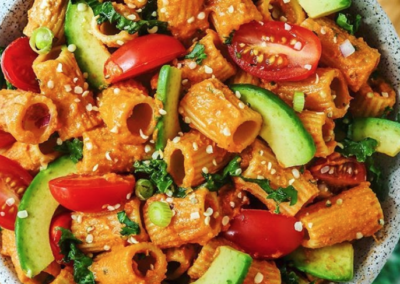 Two-Ingredients Dairy-Free and Vegan Taco Pasta