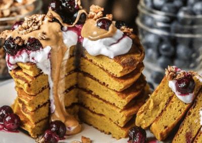 Grain-free Kabocha Squash Pancakes