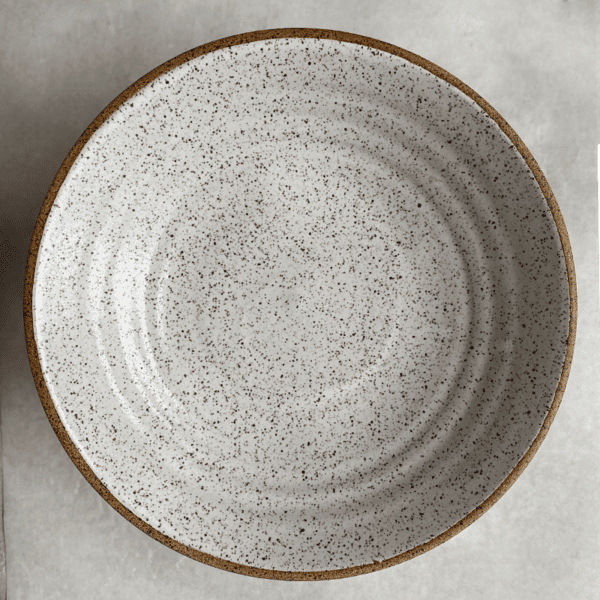 Rustic Speckled Everyday Bowl