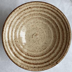 Glazed Shino Everyday Bowl