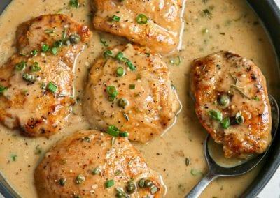 Creamy Rosemary Chicken Piccata